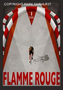 Flamme Rouge Arch